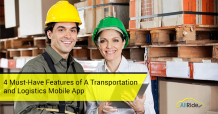 Transportation and Logistics Mobile Apps NEED These 4 Features