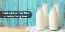 Order Pure and Fresh Milk from the Best Online Portals