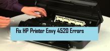 Troubleshoot HP envy 4520 Printer offline   +1-855-847-1975
