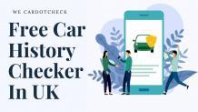 free car history check uk