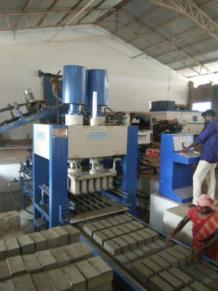 Fly Ash Brick Making Machine Manufacturers in Coimbatore, Hydraulic Concrete Block Making Machine - Ash Brick Engineering