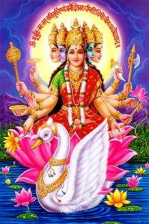 Gayatri puja for success and wealth