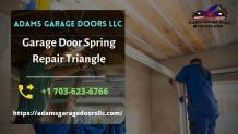 garage door spring repair Triangle