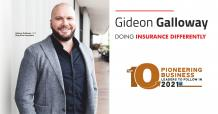 Gideon Galloway: Doing Insurance Differently - InsightsSuccess