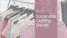Gift Ideas from Sustainable Clothing Brands