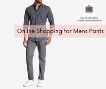 Online Shopping for Men's Pants in Dubai Becomes the Best Experience at Marhabha