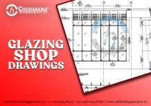 Glazing Shop Drawing Services | Steel Fabrication Shop Drawings