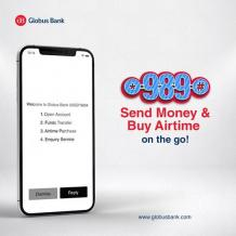 Globus Bank USSD code:How to transfer money, check account statement and buy recharge card/Airtime - How To -Bestmarket