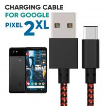 Google Pixel 2 XL Braided Charger Cable   Mobile Accessories