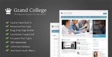 Grand College - WordPress Theme For Education - scoopbiz.com