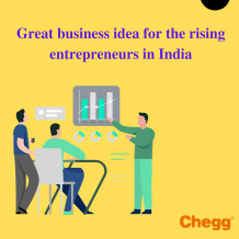 Great business idea for the rising entrepreneurs in India