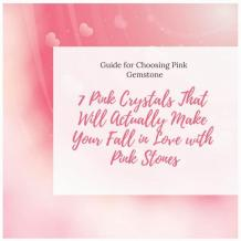 7 Pink Crystals That Will Actually Make Your Fall in Love with Pink Stones | elephant journal