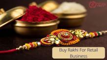 Find best rakhi manufacturer and wholesaler for retail business