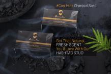 Hashtag Charcoal Mine Soap For Men