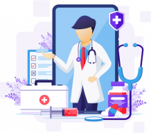 Healthcare portal development