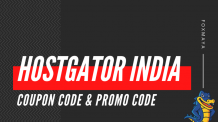 HostGator Coupon Code India