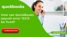 How can payroll error 15215 be fixed? - QBS Solved