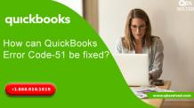 How can QuickBooks Error Code-51 be fixed? - QBS Solved
