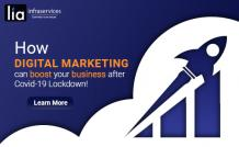How Digital Marketing can Boost Business after COVID - lia infraservices