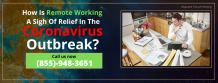 Use Remote Working To Manage Financial Activities During Coronavirus.