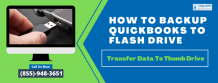 Methods To Import QuickBooks Data to a Flash Drive - Try Now