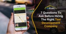 7 Questions to Ask Your Taxi App Development Company