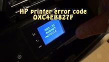 Easy Way to Fix HP Envy Printer 4500 Error OXC4EB827F