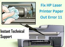 HP Printer Error 11