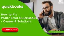 How to Fix PS107 Error QuickBooks - Causes & Solutions - QBS Solved