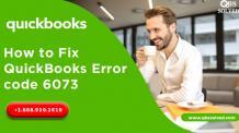 QuickBooks Error code 6073 - Unable to Open Company File