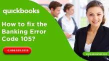 How to fix the Banking error code 105? - QBS Solved