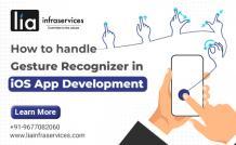 UIGestureRecognizer in iOS App Development - LIAINFRASERVICES