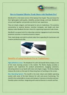MacBook Rentals Dubai