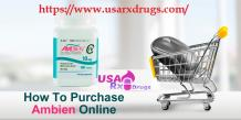 How To Purchase Ambien Online :: Buy Ambien addiction