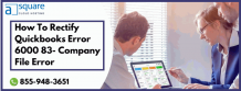 Proved Tips To Rectify QuickBooks Error 6000 83