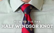 How to tie a tie Knot – Windsor – Oriental - Shelby Knot - TheNewsEngien