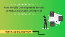 How Mobile Development Trends Continue to Shape Enterprises | Durgtech