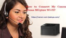 How to Connect My Canon Pixma MG3620 Wi-Fi?