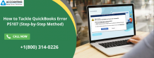 How to Tackle QuickBooks Error PS107 (Step-by-Step Method)