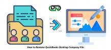 How to Rename QuickBooks Desktop Company File