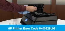 [Solved] HP Printer Error Code 0x00829c98   +1-855-847-1975