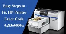 Fix HP Printer Error Code 0x83c0000a   +1-855-847-1975