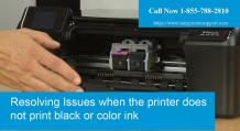 HP Printer Not Printing Black Text |1 855(788)2810| Full Black Cartridge
