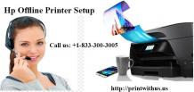 Hp Offline Printer Setup | HP Wireless Printer Setup Services