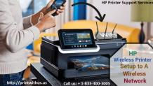 HP Printer Support Services | HP Wireless Printer Setup