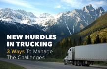 Major Hurdles That Logistics & Truck App Development Can Handle