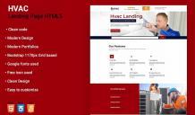 Professional HVAC WordPress Theme