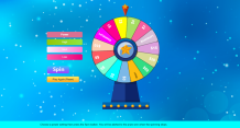 SPINNING PRIZE WHEELS ON HTML5 GAME