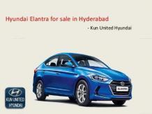 All New Hyundai Elantra Price in Hyderabad