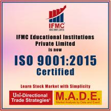 IFMC Institute Proud to Announce ISO 9001:2015 Certification